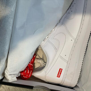 Supreme - supreme nike air force 1 us8 新品