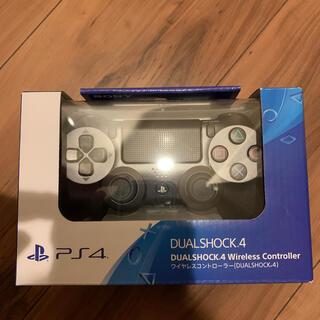 プレイステーション4(PlayStation4)の【新品未開封】ps4 ワイヤレスコントローラー 純正品 スチールブラック (その他)