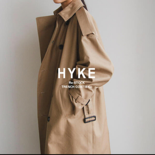 HYKE トレンチコート