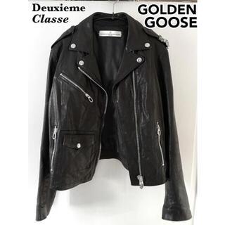 GOLDEN GOOSE - GOLDEN GOOSE レザーライダースジャケット ゴールデングース