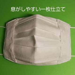 不織布マスクが見えるマスクカバー  レース