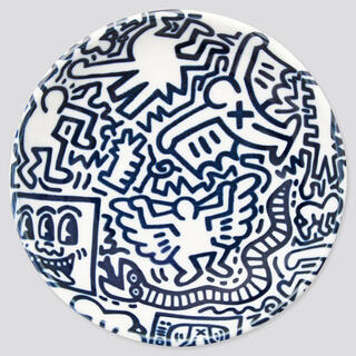ユニクロ(UNIQLO)のUNIQLO キース・へリング マメザラ(12cm)(食器)