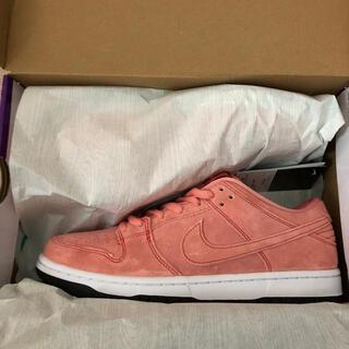 NIKE - Nike SB Dunk Low Pro Prm Pink Pig 27cm