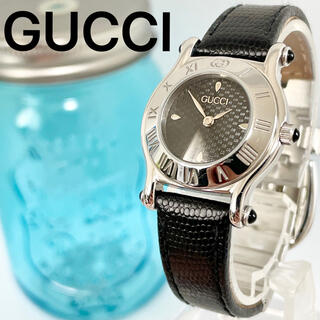 Gucci - 249 グッチ時計 未使用に近い 美品 レディース腕時計 新品電池 箱付き