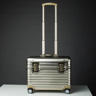 アルミスーツケース アルミトランク TSAロック キャリーケース キャリーバッグ(旅行用品)