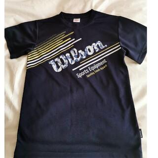 ウィルソン(wilson)のウィルソン 160 半袖 ネイビー(Tシャツ/カットソー)