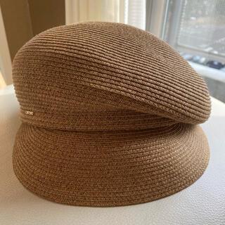 CA4LA - カシラ 麦わら帽子 キャスケット