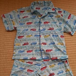 自動車の半袖パジャマ100