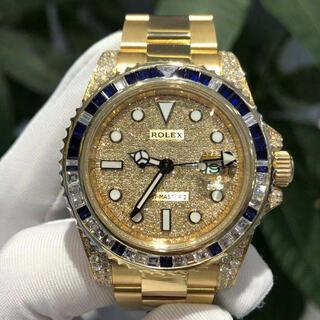ROLEX - ロレックス GMTマスター 金無垢 116718 116758SA フルダイヤ