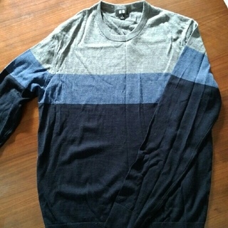 UNIQLO - ユニクロ メンズMサイズ 春セーター