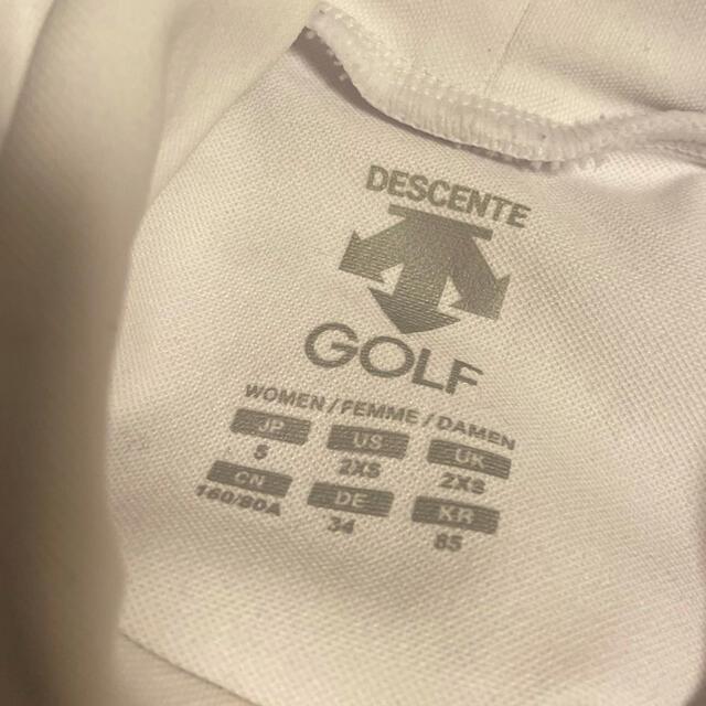 DESCENTE(デサント)のデサントゴルフ⭐︎モックネックTシャツ⭐︎ スポーツ/アウトドアのゴルフ(ウエア)の商品写真