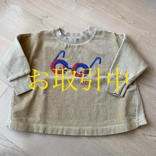 ボボチョース(bobo chose)の【美品】bobochoses ボボショセス トレーナー トップス 3歳 お洒落(Tシャツ/カットソー)