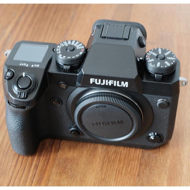 富士フイルム(フジフイルム)のFUJIFILM X−H1 富士フイルム スマホ/家電/カメラのカメラ(ミラーレス一眼)の商品写真