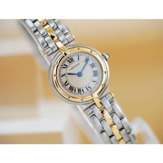 Cartier - 美品 カルティエ パンテール ヴァンドーム 18KYG コンビ 1ロウ SM