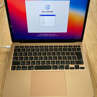 Mac (Apple) - 【超美品】MacBook Air M1チップ 8GB 512GB ゴールド