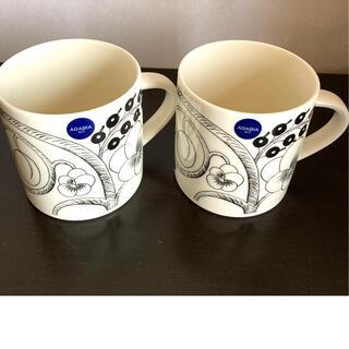 アラビア(ARABIA)の【新品未使用品】アラビア パラティッシ マグカップ 350ml(グラス/カップ)