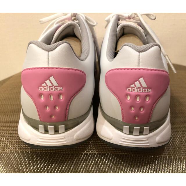 adidas(アディダス)の◆新品 adidas アディダス ゴルフシューズ レディース 23.5㎝ レディースの靴/シューズ(スニーカー)の商品写真