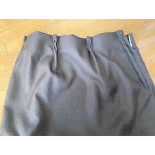 MUJI (無印良品) - 無印良品 カーテン 110 140防炎 遮光 ブラウン カーテンフック タッセル