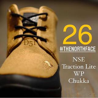 THE NORTH FACE - 【26.0】ノースフェイス★スノーブーツ★ヌプシ チャッカ★ブラウン