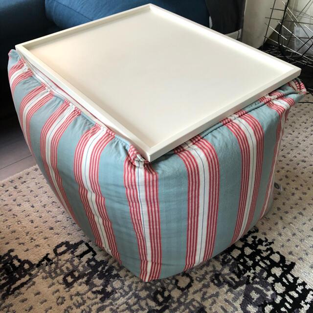 LETTI &Co クッションテーブル中古 インテリア/住まい/日用品の机/テーブル(ローテーブル)の商品写真