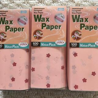 ワックスペーパー WAX PAPER さくら 桜 うさぎ 300枚(その他)