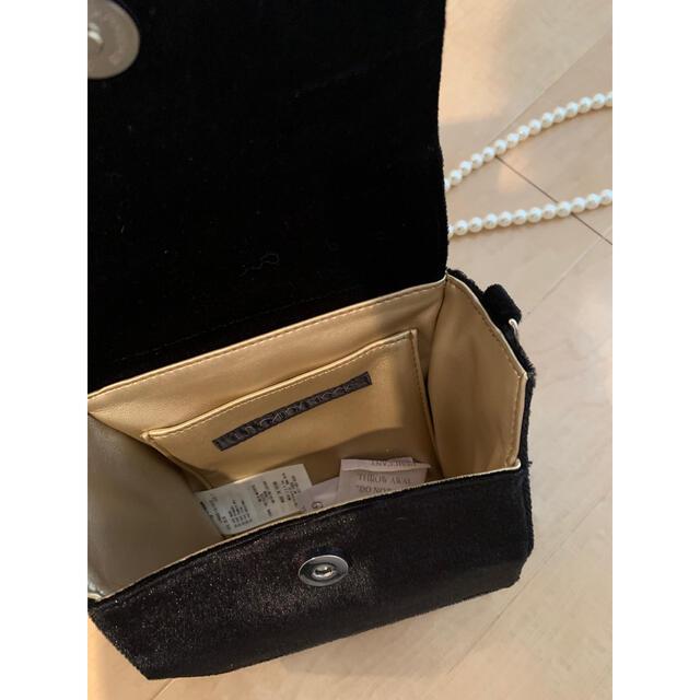 Lily Brown(リリーブラウン)のリリーブラウン♡ハートビジューバッグ レディースのバッグ(ショルダーバッグ)の商品写真