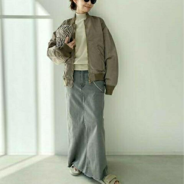 L'Appartement DEUXIEME CLASSE(アパルトモンドゥーズィエムクラス)のプティ様専用 新品タグ付【REMI RELIEF】Side Zip MA-1 レディースのジャケット/アウター(ブルゾン)の商品写真