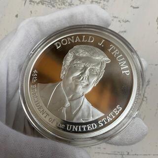 大型5オンス!ドナルド トランプ第45代大統領記念 純銀 銀貨
