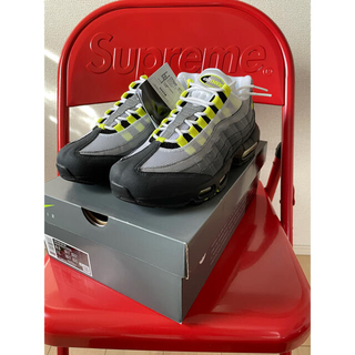"NIKE - NIKE AIR MAX 95 OG ""NEON YELLOW"" 2020"