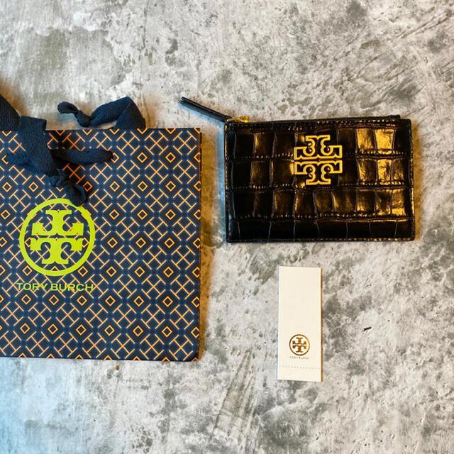 Tory Burch(トリーバーチ)の【大人気♪・激レア★】Tory Burch 最高級レザー クロコ コインケース レディースのファッション小物(コインケース)の商品写真