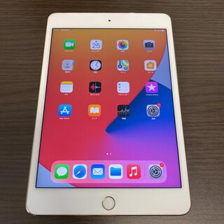 アイパッド(iPad)のiPad mini4 A1550○WiFi+SIMフリー128G○テレワークに○(タブレット)