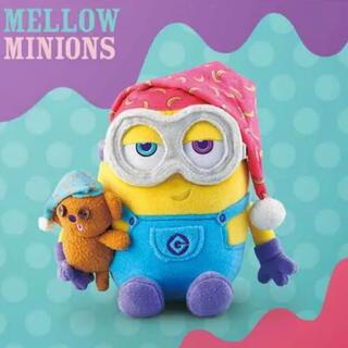 ミニオン - ミニオン 新品 Mellow Minion ぬいぐるみ おやすみ USJ 限定