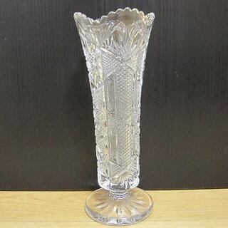 ボヘミア クリスタル(BOHEMIA Cristal)の新品 BOHEMIA ボヘミア 花瓶 フラワーベース(花瓶)