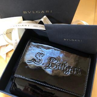 BVLGARI - ブルガリ財布 BVLGARI 折りたたみ財布