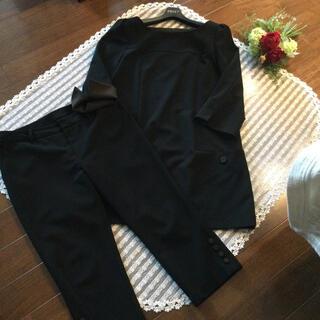 フォクシー(FOXEY)のフォクシーNY★42 オードリーパンツスーツ 黒(その他)