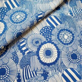 marimekko - キャンバス生地 帆布 北欧風 マリメッコ柄風シールトラプータルハ 145×50㎝