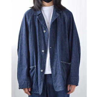 COMOLI - COMOLI 21SS デニムワークジャケット カバーオール サイズ 3 新品