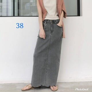 L'Appartement DEUXIEME CLASSE - 新品 GOOD GRIEF スカート グレー 38