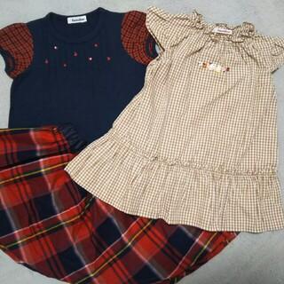 familiar - 【中古】 ファミリア チュニック Tシャツ スカート