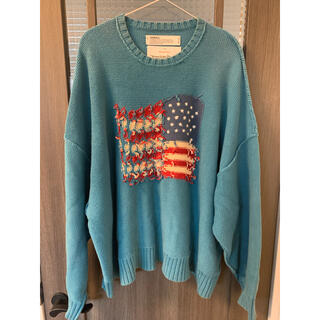 dairiku 19aw inside out knit