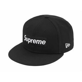 シュプリーム(Supreme)のsupreme new era 21SS 7 3/8 black(キャップ)