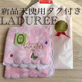 LADUREE - LADUREE ハンカチ(新品未使用タグ付き)