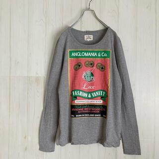 Vivienne Westwood - ヴィヴィアンウエストウッド ロングTシャツ カットソー 古着