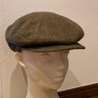ケンゾー(KENZO)の★でんでんむし様専用です★         KENZO ハンチング 帽子 草色(ハンチング/ベレー帽)