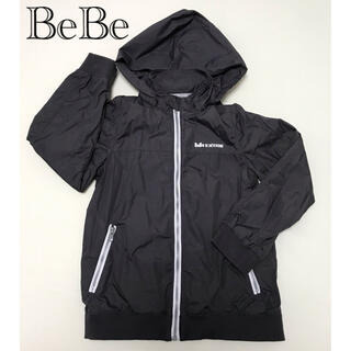 BeBe - グレー ナイロンブルゾン