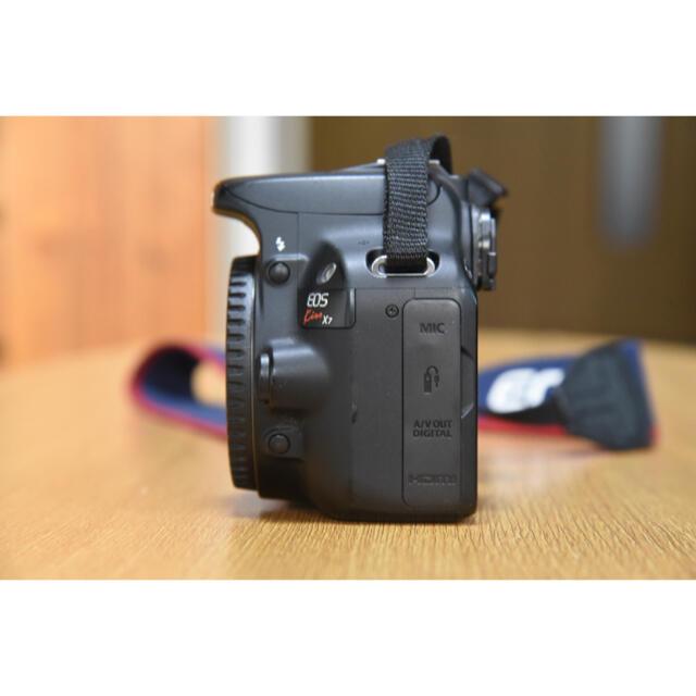 Canon(キヤノン)の【レンズ3本セット】Canon Eos kiss x7【✨美品✨】 スマホ/家電/カメラのカメラ(デジタル一眼)の商品写真