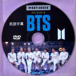 ボウダンショウネンダン(防弾少年団(BTS))のBTS MTV アンプラグド 英語字幕(その他)