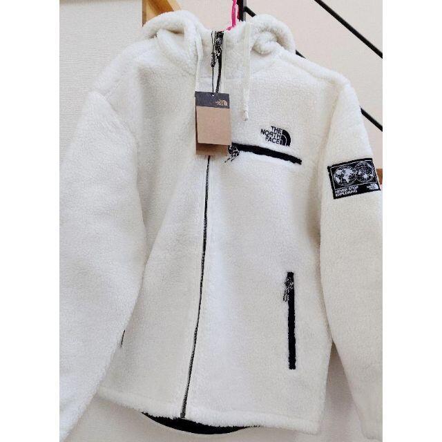 THE NORTH FACE(ザノースフェイス)の日本未入荷【XL】新品:THE NORTH FACE★RIMO FLEECE 白 メンズのジャケット/アウター(その他)の商品写真