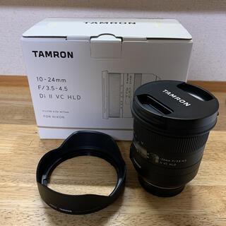 TAMRON - TAMRON☆10-24mm F3.5-4.5 Di II VC HLD