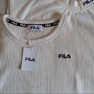 FILA - FILA  ワッフル ノースリーブ  Tシャツ